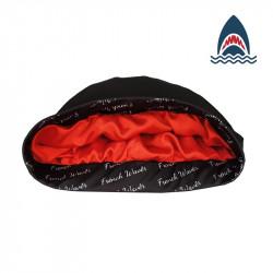 French-Cap satin noir